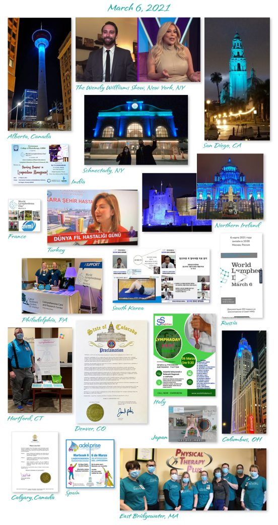 World Lymphedema Day Collage